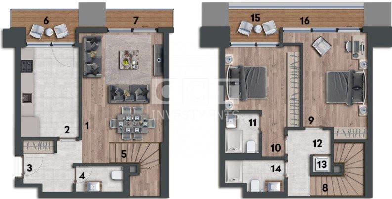2+1 Duplex