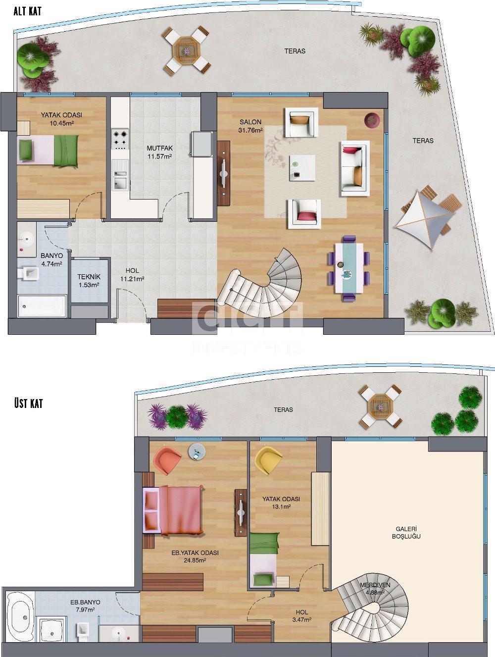 3+1 Duplex