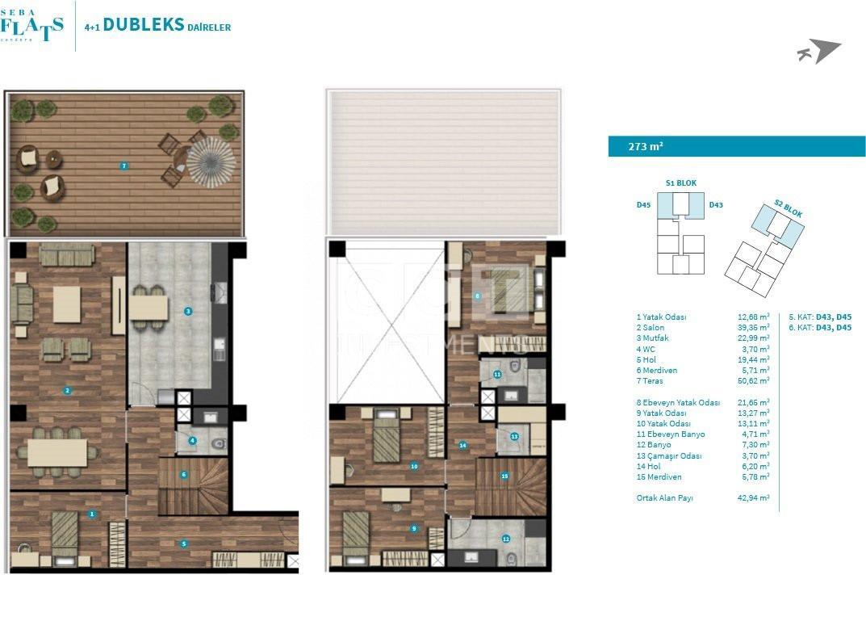 4+1 Duplex