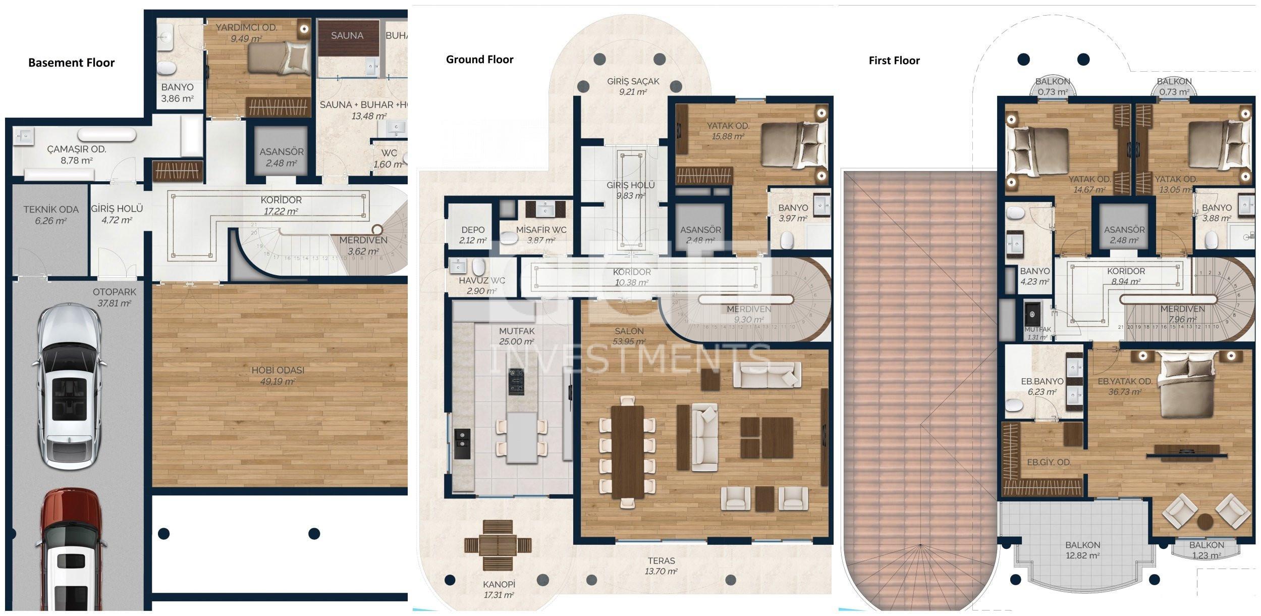 Type A villa