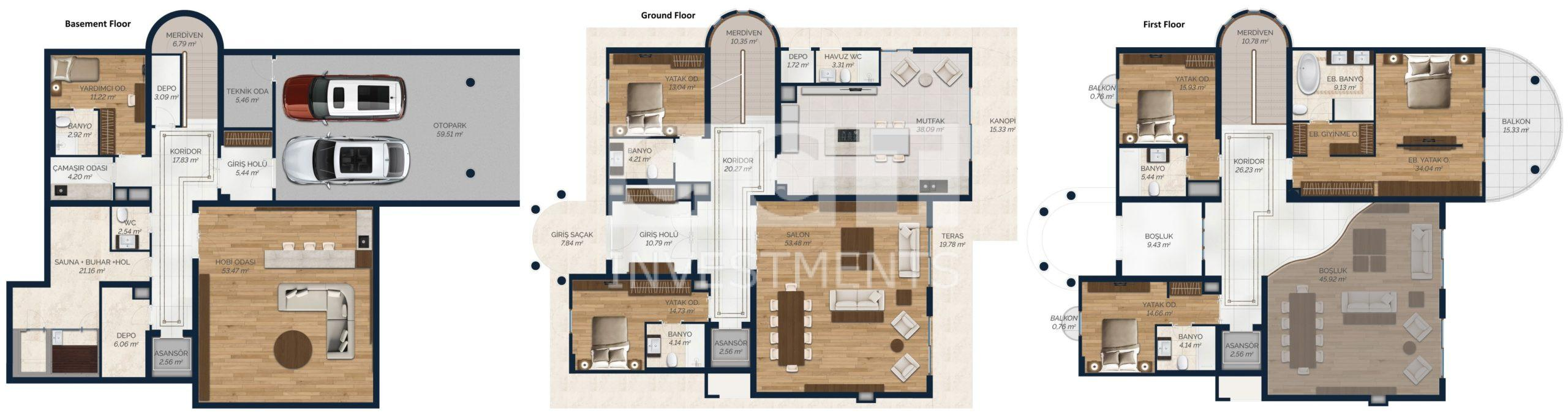 Type E villa
