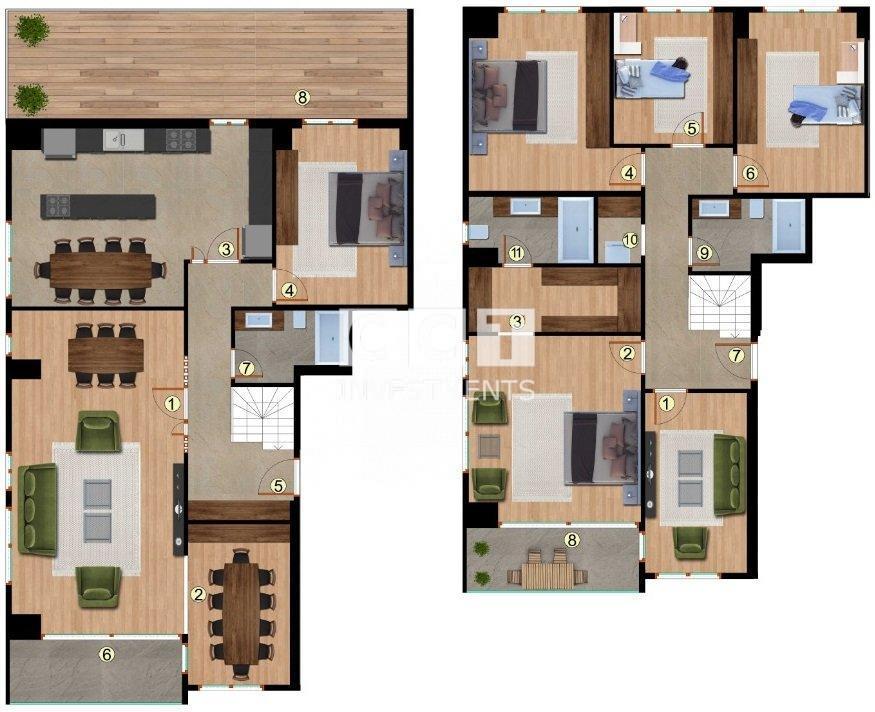 6+2 Duplex